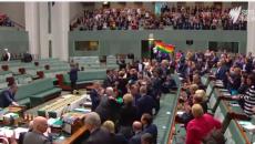 Australia đã thông qua đạo luật công nhận hôn nhân đồng giới