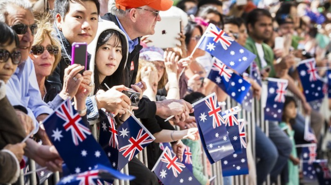 Số lượng dân nhập cư vào Úc giảm xuống mức thấp nhất trong hơn một thập kỷ qua