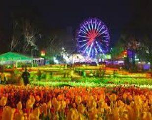 Rực rỡ lễ hội hoa Floriade 2016 ở Canberra – Úc