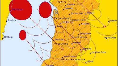 Úc: Cảnh báo khẩn cấp về cơn bão càn quét phần lớn khu vực Nam Úc