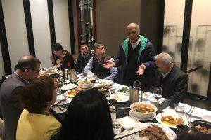 Bữa tối thân mật giữa VBAA và ông Peter Hong, Phó chủ tịch hội doanh nhân BAOOV