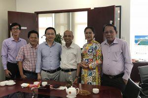 Ông Đỗ Gia Thắng chúc tết Hội doanh nhân người Việt Nam tại nước ngoài.