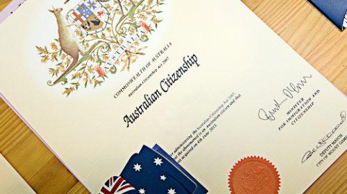 Kết quả hình ảnh cho bài thi quốc tịch úc