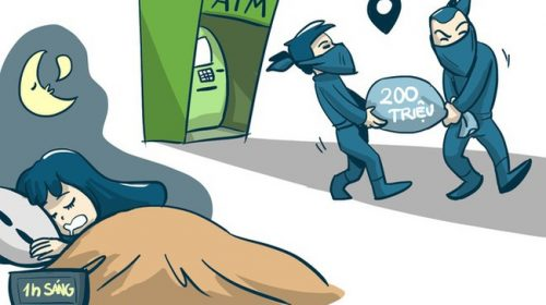 Tại sao tội phạm hay trộm tiền qua ATM vào khoảng thời gian 23h đến 1h sáng?