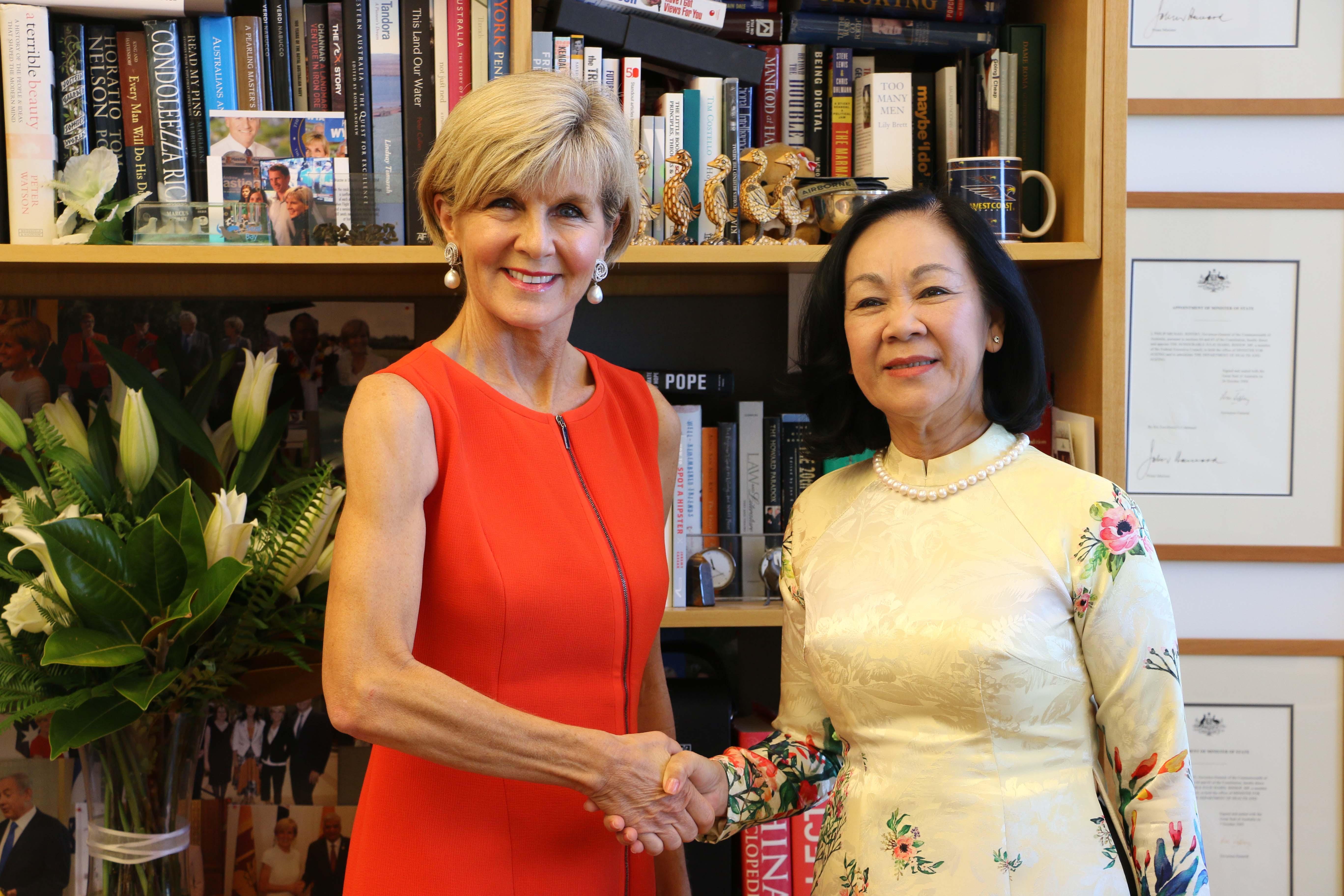 Đoàn đại biểu Đảng Cộng sản Việt Nam thăm, làm việc tại Australia