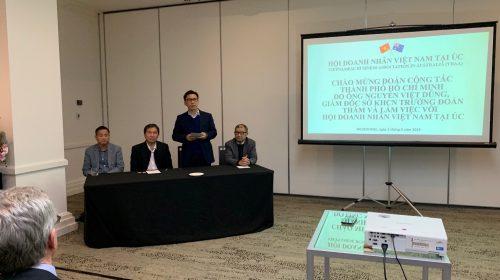 Đoàn công tác TP.HCM đến thăm và làm việc tại Úc nhằm thúc đẩy hợp tác nghiên cứu phát triển khoa học công nghệ