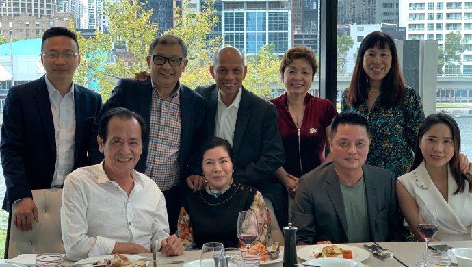 Hiệp hội Doanh nhân Người Việt Nam tại nước ngoài thăm và làm việc với Ban chấp hành Hội Doanh nhân Việt Nam tại Úc