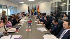 Đoàn công tác tỉnh Bà Rịa – Vũng Tàu làm việc với chính quyền vùng lãnh thổ Bắc Úc thúc đẩy hợp tác đầu tư và giáo dục