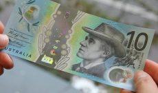 Úc: Tờ tiền 10 AUD mới sẽ được lưu thông chính thức từ ngày 20/9/2017