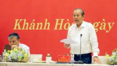 Phó thủ tướng Trương Hòa Bình: 'Dân đóng thuế trả lương, cán bộ phải phục vụ cho tốt'