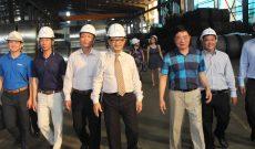 Đoàn công tác VBAA kết thúc tốt đẹp chuyến thăm và làm việc tại nhà máy thép Chính Đại