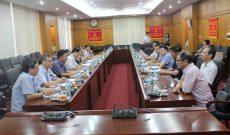 Buổi làm việc giữa nhà xuất bản chính trị quốc gia và Hội doanh nhân VBAA