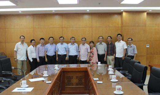 Uỷ ban Nhà nước người Việt Nam ở nước ngoài đón tiếp đoàn công tác VBAA