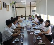 VBAA gặp gỡ và làm việc với Hiệp hội doanh nghiệp TP.HCM