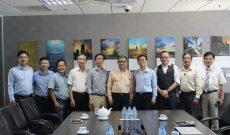 VBAA đến thăm và làm việc với Tập đoàn Xây dựng và Kinh doanh địa ốc Hòa Bình