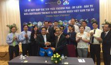 BenThanh Tourist ký kết hợp tác với Hội doanh nhân Việt Nam tại Australia
