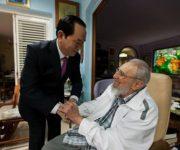 Chủ tịch nước Trần Đại Quang hội kiến Lãnh tụ Cuba Fidel Castro