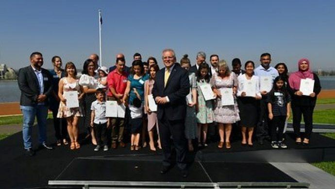 Số người được nhập tịch Úc cao kỷ lục trong năm 2019-2020 bất chấp gián đoạn do Covid-19
