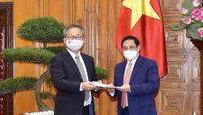 Chính phủ Nhật Bản hỗ trợ Việt Nam 1 triệu liều vaccine phòng Covid-19