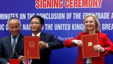Bộ trưởng Anh thăm Hà Nội, kết thúc đàm phán Hiệp định Thương mại tự do