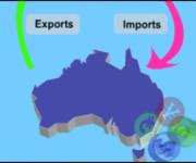 Xuất nhập khẩu của Úc giảm trong tháng 8.2020