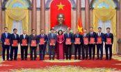 Trao quyết định bổ nhiệm Đại sứ Việt Nam tại nước ngoài nhiệm kỳ 2020-2023 lần thứ nhất