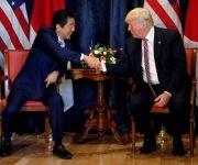 Trump – Abe nhất trí tăng trừng phạt Triều Tiên
