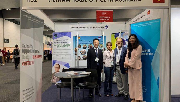 VBAA đồng hành cùng các doanh nghiệp Việt Nam tham gia hội chợ quốc tế nguồn hàng Úc 2018