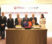Tập đoàn T&T hợp tác toàn diện với Hiệp hội doanh nghiệp Hunternet