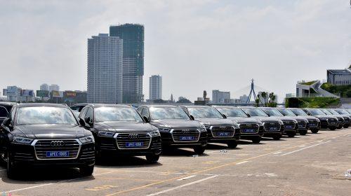 Xe Audi phục vụ APEC sẽ phải đóng thuế hơn 400 tỷ đồng