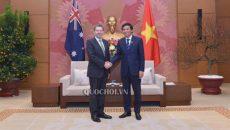 Đề nghị Úc hỗ trợ Quốc hội Việt Nam thực hiện quốc hội điện tử