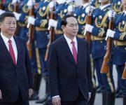 Trung Quốc bắn 21 phát đại bác chào đón Chủ tịch nước Trần Đại Quang