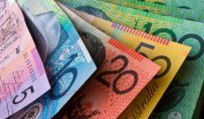 Đô la Úc giảm giá, chạm mức thấp nhất trong vòng 2 tuần