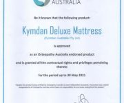 Australia chứng nhận nệm Kymdan Việt Nam là sản phẩm đạt tiêu chuẩn