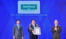 NutiFood lọt top 10 Doanh nghiệp Việt Nam thịnh vượng