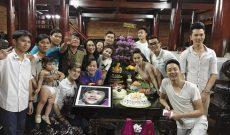 Hoài Linh tổ chức sinh nhật ấm cúng tại nhà thờ Tổ