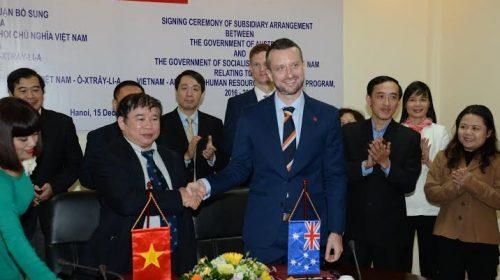 Australia tăng viện trợ Việt Nam lên 138 triệu AUD