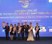 Họp báo công bố cuộc thi Hoa hậu Biển Việt Nam toàn cầu 2018