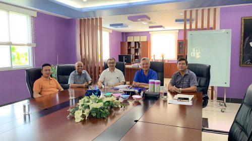 VBAA cùng BAOOV thăm và làm việc với Tập đoàn Mỹ Lan