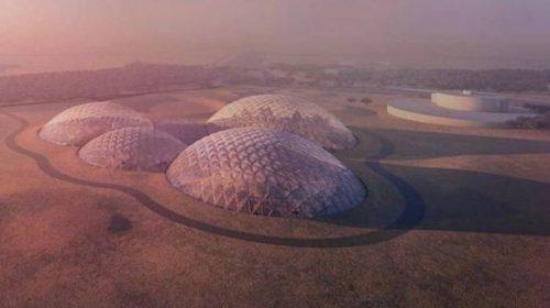 Các Tiểu vương quốc Ả Rập xây các nhà vòm tại sa mạc để thử nghiệm cho dự án đưa người lên sao Hỏa   chia sẻ