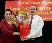 Ông Nguyễn Thiện Nhân làm Bí thư Thành ủy TP.HCM