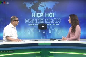 VTV4 – Phỏng vấn ông Trần Bá Phúc về hoạt động sắp tới của hiệp hội Doanh nhân VN ở nước ngoài