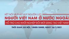 Hội thảo kết nối và phát huy nguồn lực người Việt Nam ở nước ngoài hỗ trợ cho khởi nghiệp Đổi mới sáng tạo Việt Nam