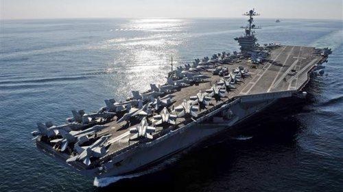 Mỹ sắp triển khai tàu sân bay gần bán đảo Triều Tiên