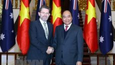 Củng cố quan hệ Đối tác Chiến lược Việt Nam-Úc