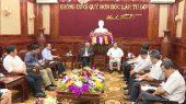 Hiệp hội Doanh nhân người Việt Nam ở nước ngoài tìm hiểu đầu tư tại tỉnh