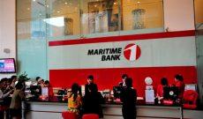 Tiền gửi vào Maritime Bank tăng gần gấp đôi trong năm 2016