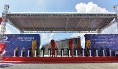 Vingroup khởi công dự án sản xuất ô tô, xe máy điện mang thương hiệu Việt, nhà máy đặt tại Hải Phòng