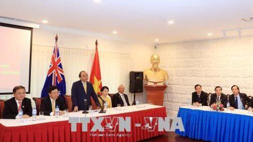 Thủ tướng Nguyễn Xuân Phúc thăm Đại học Quốc gia Australia